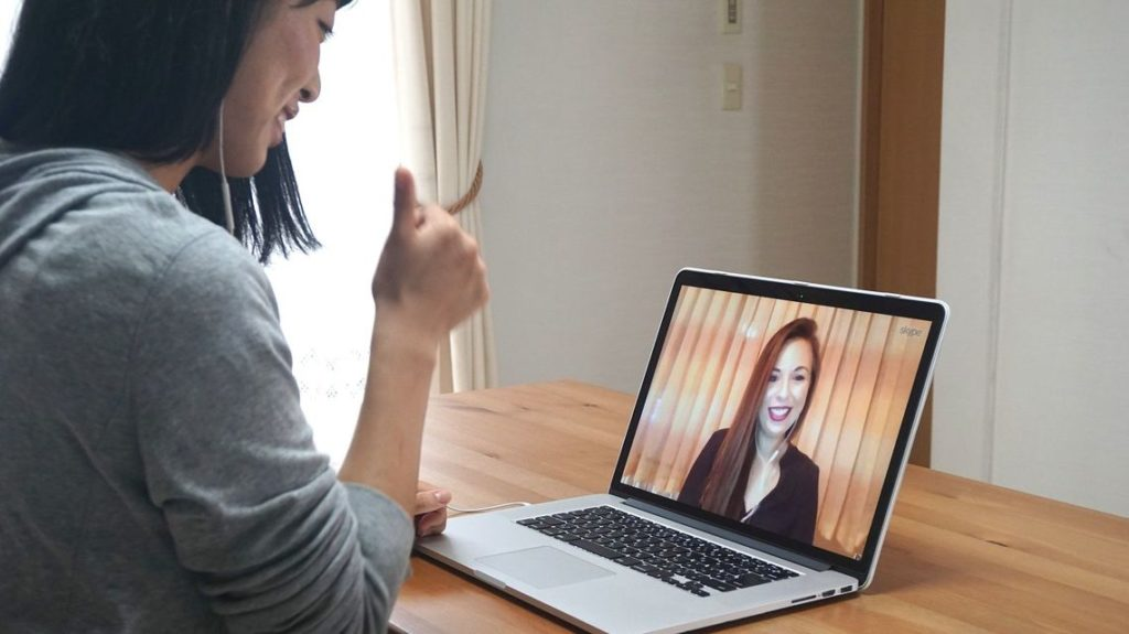 Private Japanese student and tutor lesson online