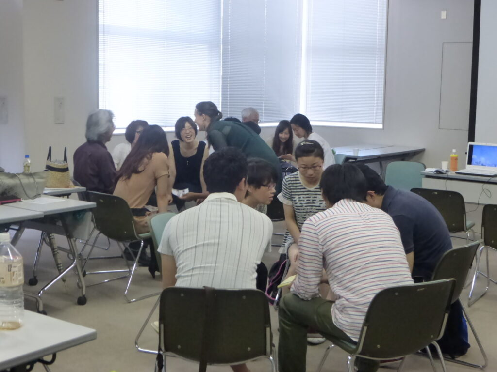 closs culture meeting for Japanese tutoring